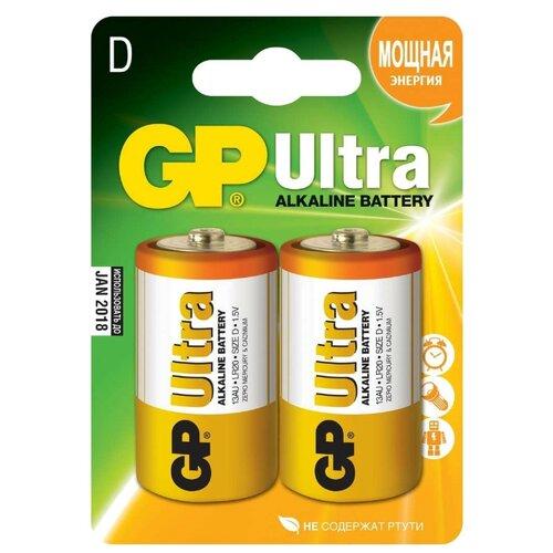 Фото - Батарейка GP Ultra Alkaline D кухонная мойка ulgran u 405 331 белая