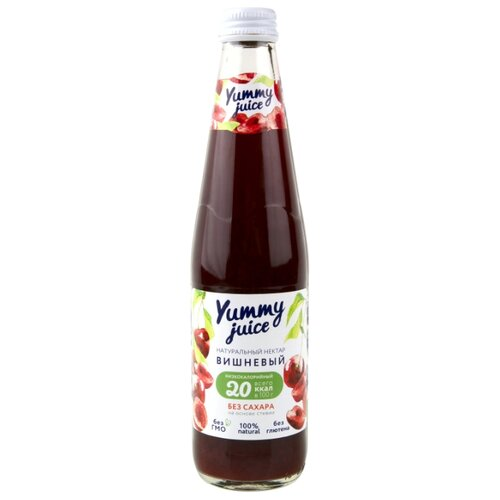 Нектар Yummy juice вишневый без