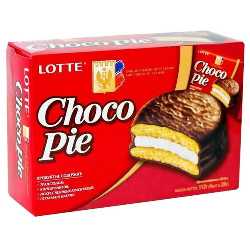 Пирожное Lotte Confectionery lotte 120
