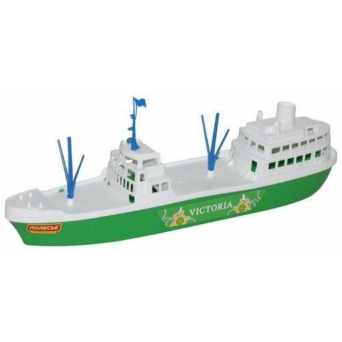 Фото - Корабль Полесье Виктория 56399 полесье набор игрушек для песочницы 468 цвет в ассортименте