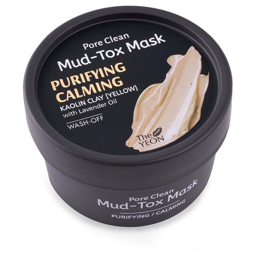 The yeon маска Pore Clean маска для лица с каолиновой глиной pore clean mudtox mask yellow 80гр the yeon