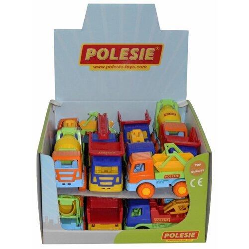 Фото - Набор машин Полесье Тёма 50403 полесье набор игрушек для песочницы 468 цвет в ассортименте