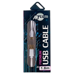 Кабель Atcom Premium USB - microUSB (AT9073) 1.8 м
