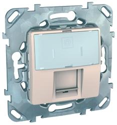Розетка для интернета / телефона Schneider Electric UNICA MGU5.425.25ZD