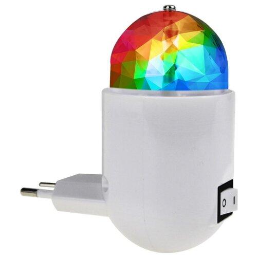 Ночник-проектор REV DISCO 32454 6 светильник ночник светодиодный rev 3вт ночник 220в rgb