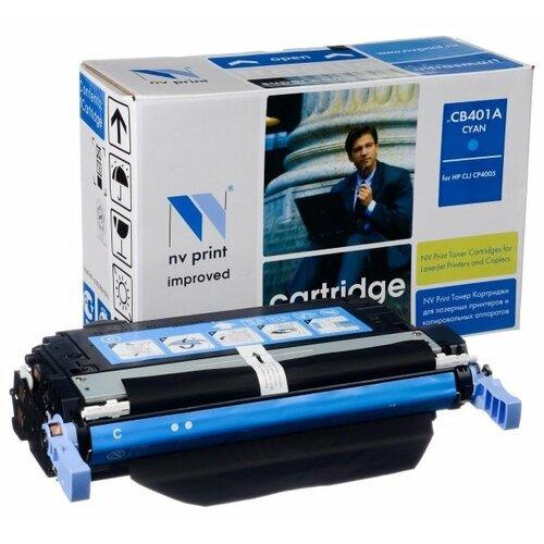 Картридж NV Print CB401A для HP картридж nv print 106r01524 для