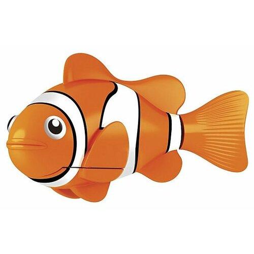 Робот ZURU РобоРыбка Клоун 2501 игрушка для ванны robofish роборыбка клоун цвет оранжевый белый