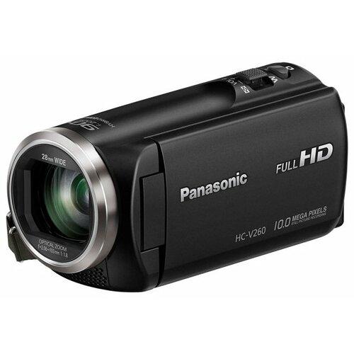 Фото - Видеокамера Panasonic HC-V260 цифровая видеокамера panasonic hc v 380 черный