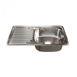 Врезная кухонная мойка Mixline 42х76 (0,8) 3 1/2 правая