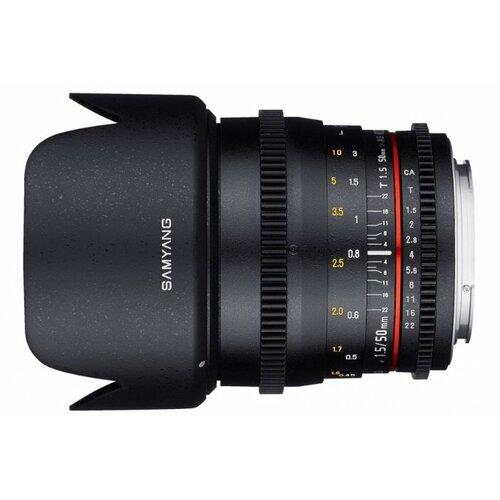 Фото - Объектив Samyang 50mm T1.5 AS объектив