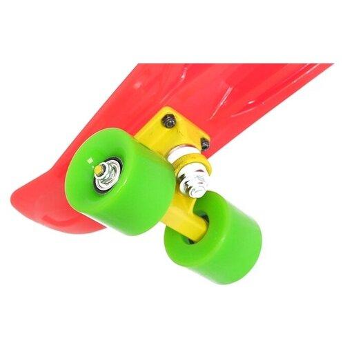 Лонгборд Moove&Fun PP2206-1 скейт пластиковый moove fun 22х6 1 pp2206 1 green