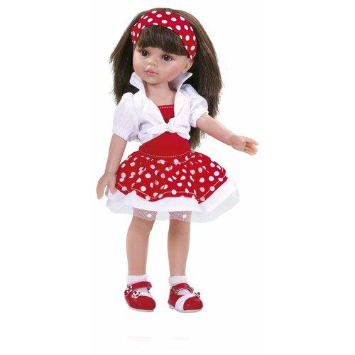 Кукла Paola Reina Кэрол 32 см paola reina кукла лидия 60 см paola reina