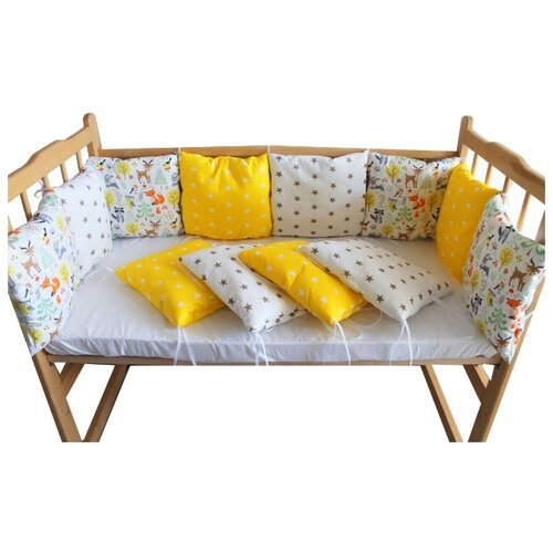Valena бортики в кроватку бортики в кроватку mummys hugs с зайками для кроватки 120х60