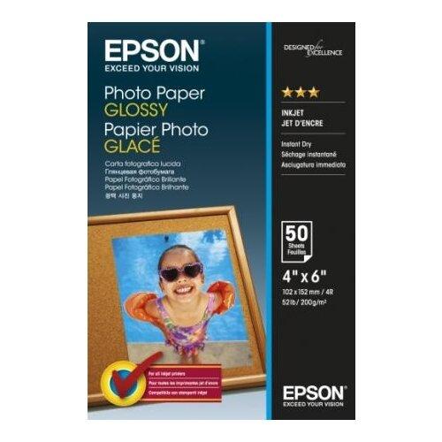 Фото - Фотобумага Epson 10x15см 200г epson фотобумага c13s041344