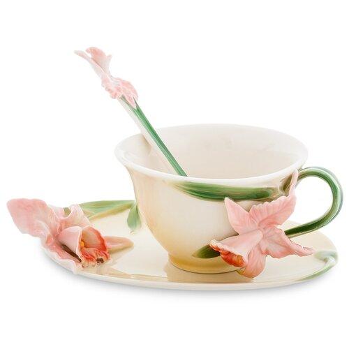 Pavone Чайная пара Орхидея 120 мл