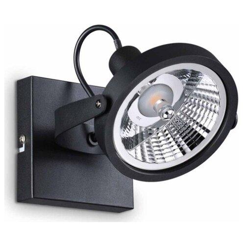 Спот IDEAL LUX Glim PL1 Nero уличный светильник ideal lux symphony symphony pl1 nero