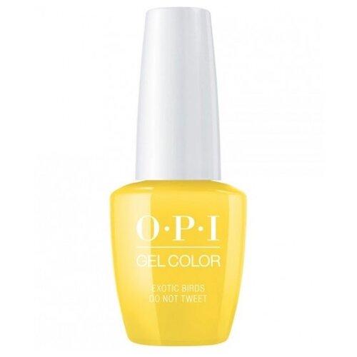 Гель-лак OPI GelColor Fiji 15 мл opi лак для ногтей peru nlp32 seven wonders of opi 15 мл
