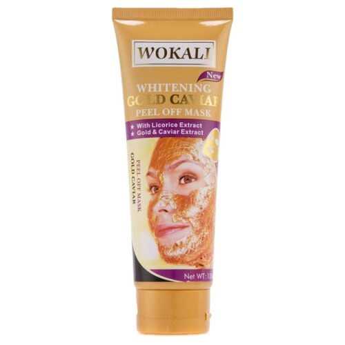 Wokali маска-пленка Gold Caviar пленка