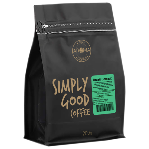 Кофе в зернах Aroma Brazil