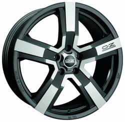 Колесный диск OZ Racing Versilia 8x19/5x108 D75 ET45 Matt Black Diamond Cut