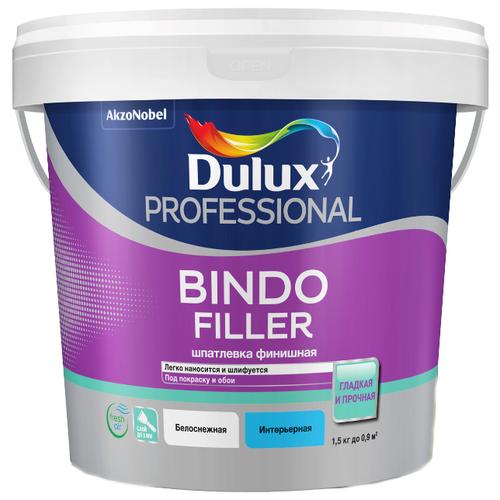 Шпатлевка Dulux Bindo Filler грунт bindo base dulux водно дисперсионный 10 л