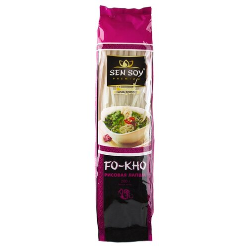 Лапша Sen Soy Fo-Kho рисовая sen soy premium лапша рисовая с соусом pad thai и кунжутом 235 г