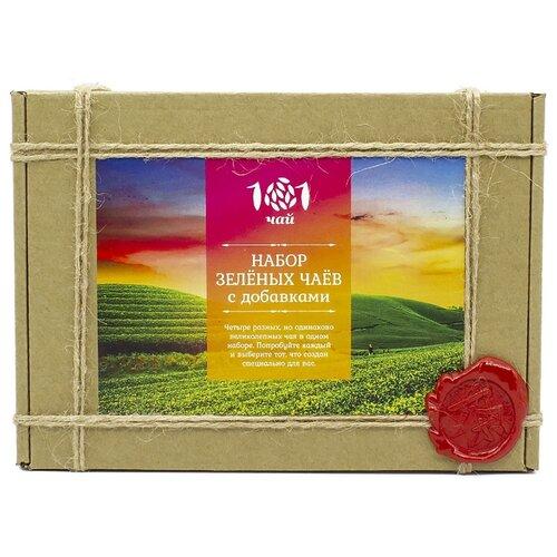 Фото - Чай зеленый 101 чай Набор чай