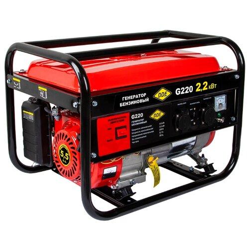 Бензиновый генератор DDE G220