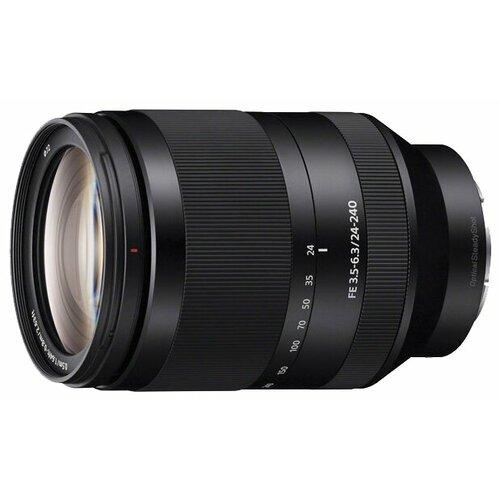 Фото - Объектив Sony FE 24-240mm f объектив sony sel 70200 e mount fe 70–200 мм f2 8 gm oss