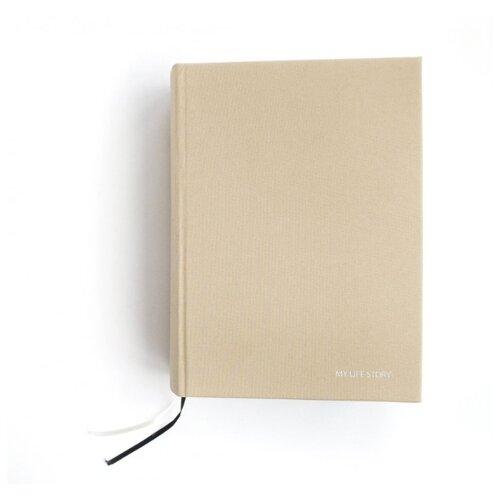 Дневник My Life Story бежевый насадка стилус suck uk finger touch