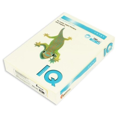 Фото - Бумага цветная IQ Color А4 160г айзенк ганс юрген эванс даррин тесты iq для юных гениев
