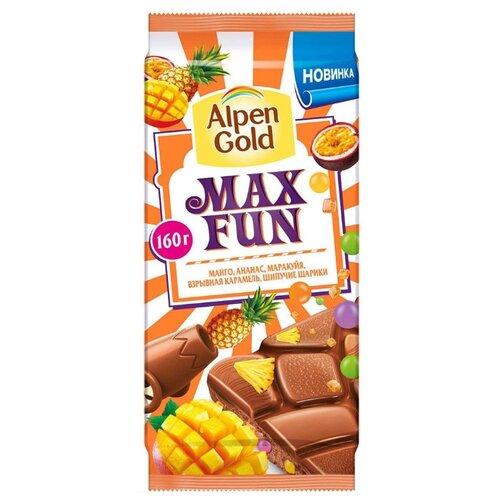 Шоколад Alpen Gold Max Fun
