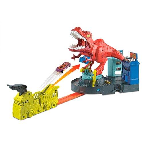 Трек Hot Wheels City T-Rex