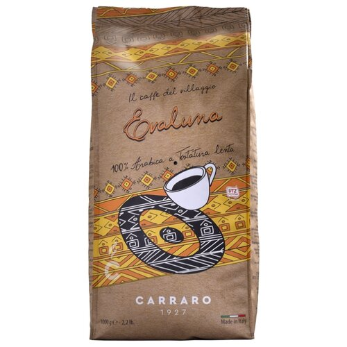Кофе в зернах Carraro Evaluna