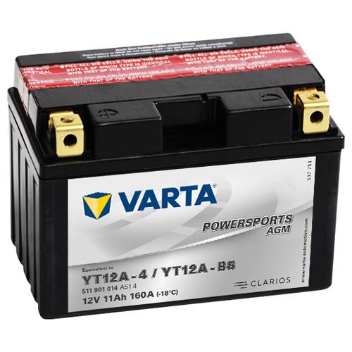 Мото аккумулятор VARTA аккумулятор