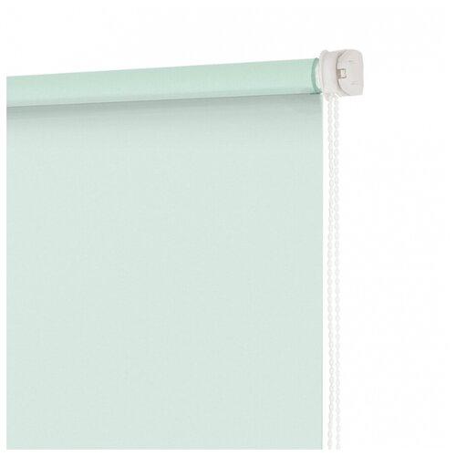 Рулонная штора DECOFEST Свежая шторы рулонные ролло идея рулонная штора ролло lux samba цветы зеленый оранжевый желтый 160 см