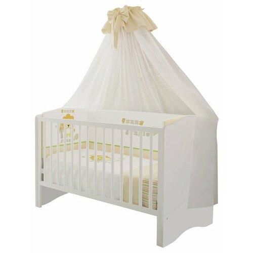 Кроватка Polini Simple 140x70 кроватка polini simple белый синий