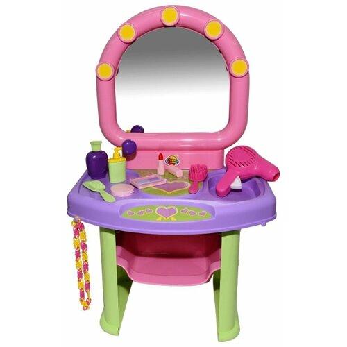 Фото - Туалетный столик Полесье 53039 полесье набор игрушек для песочницы 468 цвет в ассортименте