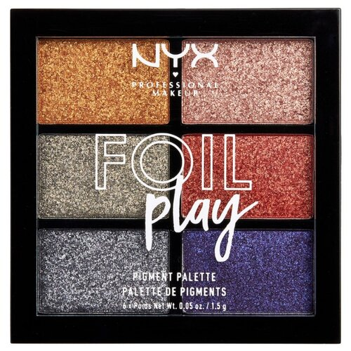 NYX Палетка пигментов Foil Play фото