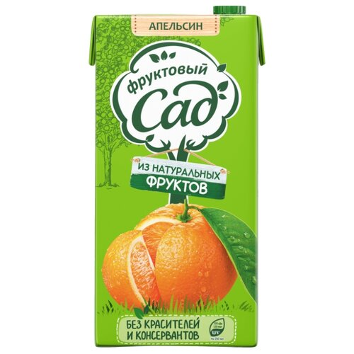 Нектар Фруктовый сад Апельсин с