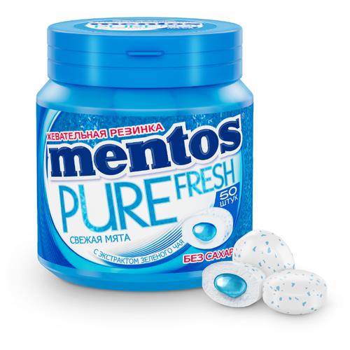 Жевательная резинка MENTOS Pure фото