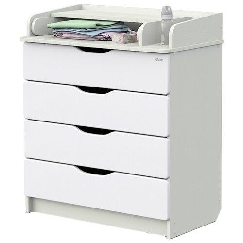 пластиковая мебель Пеленальный комод Атон Мебель