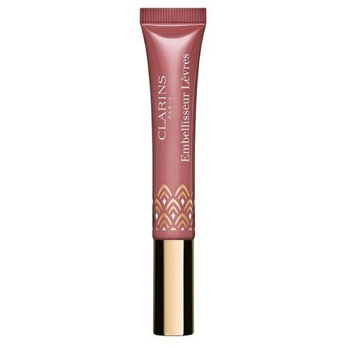 Clarins блеск для губ Natural clarins eclat minute блеск для губ 01 rose shimmer