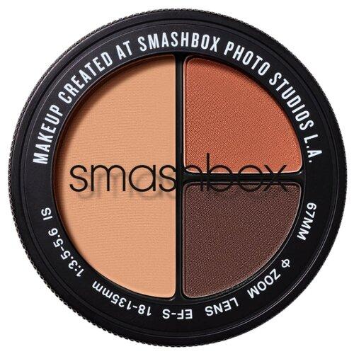 Фото - Smashbox Палетка теней тройная smashbox cover shot eye palettes палетка теней punked
