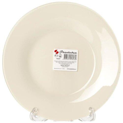 Pasabahce Тарелка обеденная Беж тарелка закусочная pasabahce family 19 5 см