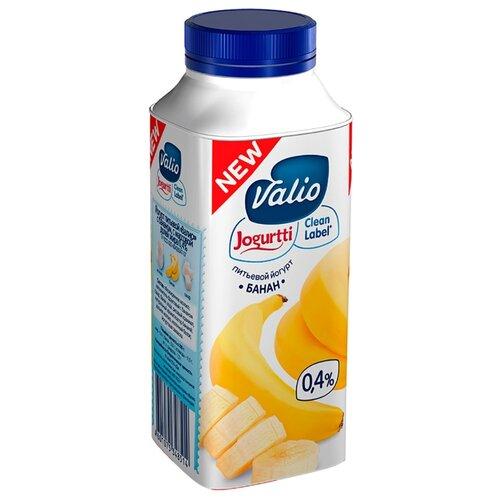Питьевой йогурт Valio банан