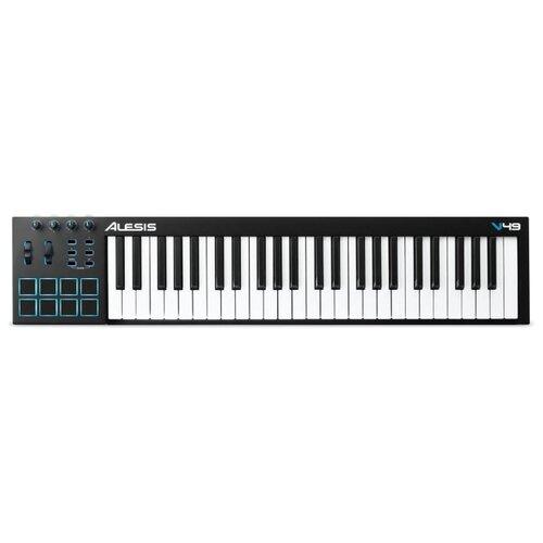 MIDI-клавиатура Alesis V49 настольный барабан alesis samplepad pro