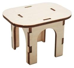Astra & Craft Деревянная заготовка для декорирования Стол квадратный L-507