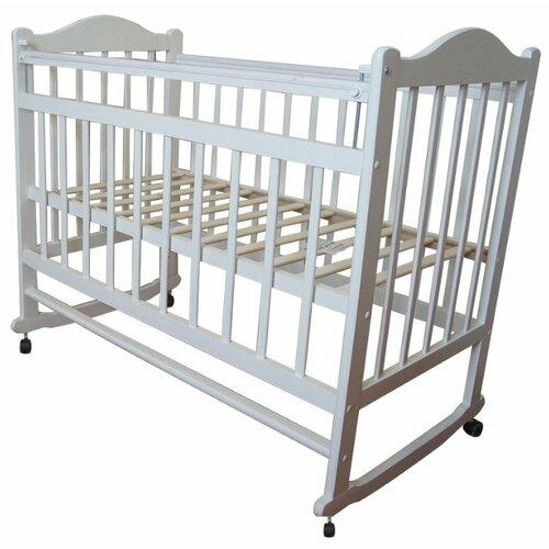 Кроватка Мой малыш 1 колесо кровать колыбель мой малыш светлый мм14 1
