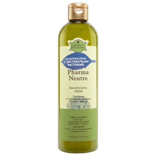 GreenPharma шампунь-крем Pharma